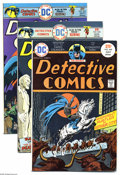 Silver Age (1956-1969):Miscellaneous, DC Silver and Bronze Age Group (DC, 1957-75). This 39-issue grouplot includes Detective Comics #449, 450, 451, 452, and... (39 ComicBooks)
