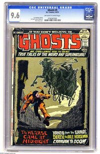 Ghosts #5 (DC, 1972) CGC NM+ 9.6 Off-white to white pages. Nick Cardy cover. Art Saaf and John Calnan art. Overstreet 20...
