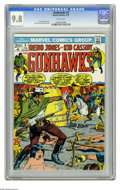 Bronze Age (1970-1979):Western, Gunhawks #3 (Marvel, 1973) CGC NM/MT 9.8 White pages. Cover by Syd Shores. Dick Ayers and Jack Abel art. This is currently t... (1 )