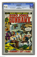 Bronze Age (1970-1979):Western, Gunhawk #7 (Marvel, 1973) CGC NM+ 9.6 White pages. Formerly titled Gunhawks. Last issue. Dick Ayers cover and art. This ... (1 )