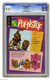 H.R. Pufnstuf #3 File Copy (Gold Key, 1971) CGC VF/NM 9.0 Off-white pages. Photo cover. Overstreet 2005 VF/NM 9.0 value...