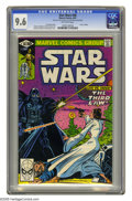 Modern Age (1980-Present):Science Fiction, Star Wars #48 (Marvel, 1981) CGC NM+ 9.6 Off-white pages. PrincessLeia faces Darth Vader. Carmine Infantino cover and art. ...