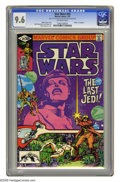 Modern Age (1980-Present):Science Fiction, Star Wars #49 (Marvel, 1981) CGC NM+ 9.6 Off-white pages. WaltSimonson cover and art. Overstreet 2005 NM- 9.2 value = $9. C...