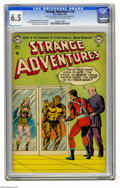 Golden Age (1938-1955):Science Fiction, Strange Adventures #34 (DC, 1953) CGC FN+ 6.5 Light tan tooff-white pages. Captain Comet appears. Murphy Anderson coverart...