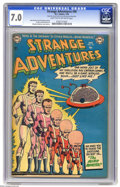 Golden Age (1938-1955):Science Fiction, Strange Adventures #40 (DC, 1954) CGC FN/VF 7.0 Light tan tooff-white pages. Captain Comet is featured. Murphy Anderson cov...