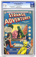 Golden Age (1938-1955):Science Fiction, Strange Adventures #41 (DC) CGC VF- 7.5 Light tan to off-whitepages. Captain Comet is featured. Murphy Anderson cover art. ...