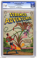 Golden Age (1938-1955):Science Fiction, Strange Adventures #44 (DC, 1954) CGC FN/VF 7.0 Light tan tooff-white pages. Captain Comet is featured. Murphy Anderson cov...
