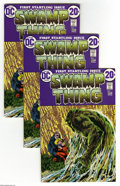 Bronze Age (1970-1979):Horror, Swamp Thing #1 Group (DC, 1972) Condition: Average VF+. Threecopies of the issue featuring the origin of the Swamp Thing. B...(3 Comic Books)