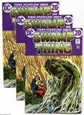 Bronze Age (1970-1979):Horror, Swamp Thing #1 Group (DC, 1972) Condition: Average FN/VF. Thisgroup consists of five copies of Swamp Thing #1. Origin o... (5Comic Books)