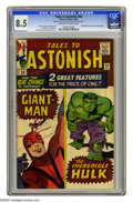 Silver Age (1956-1969):Superhero, Tales to Astonish #60 (Marvel, 1964) CGC VF+ 8.5 Cream to off-white pages. First issue with Giant-Man and Hulk double featur...