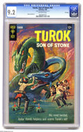 Silver Age (1956-1969):Adventure, Turok #62 File Copy (Gold Key, 1968) CGC NM- 9.2 Off-white pages. Twelve-cent cover price. Alberto Gioletti art. Overstreet ...