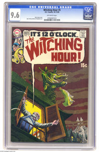 Witching Hour #5 (DC, 1969) CGC NM+ 9.6 Off-white pages. Nick Cardy cover. Alex Toth and Bernie Wrightson art. Overstree...