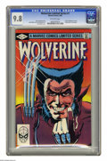 Modern Age (1980-Present):Superhero, Wolverine (Limited Series) #1 (Marvel, 1982) CGC NM/MT 9.8Off-white pages. First solo Wolverine comic. Frank Miller covera...