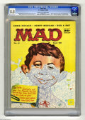 """Magazines:Mad, Mad #41 (EC, 1958) CGC FN- 5.5 Cream to off-white pages. """"Ripley'sBelieve it or Not!' spoof. """"National Geographic"""" parody. ..."""