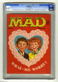 """Magazines:Mad, Mad #45 (EC, 1959) CGC FN 6.0 Cream to off-white pages. Firstannual Mad Awards for the Worst of 1958. """"Look"""" magazine parod..."""