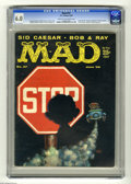 """Magazines:Mad, Mad #47 (EC, 1959) CGC FN 6.0 Cream to off-white pages. """"Jack and Jill Parody. Combined TV shows spoof. Sid Caesar's first a..."""