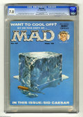 "Magazines:Mad, Mad #49 (EC, 1959) CGC FN/VF 7.0 Cream to off-white pages. Controversial ""Gettysburg Address"" parody. Mad horror primer. Hal..."
