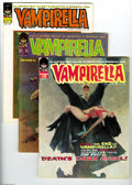 Magazines:Horror, Vampirella Group (Warren, 1970-72) Condition: Average FN. This group contains issues 5, 12, 13, 14, 15, and 16. Issue 5 feat... (6 Comic Books)