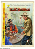 "Original Comic Art:Covers, All Star Western Artist - ""Killer's Crossroads"" Paperback CoverOriginal Art (All Star Western, undated). Steve Reese gets t..."