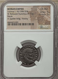 Ancients:Ancient Lots , Ancients: ANCIENT LOTS. Roman Imperial. Constantine Era (AD307-337). Lot of two (2) AE folles. NGC Choice AU 5/5 - 5/5....(Total: 2 coins)