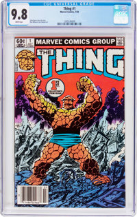 The Thing #1 (Marvel, 1983) CGC NM/MT 9.8 White pages