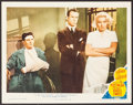 "Movie Posters:Film Noir, The Postman Always Rings Twice (MGM, 1946). Lobby Card (11"" X 14""). Film Noir.. ..."