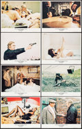 "Movie Posters:Crime, Get Carter (MGM, 1971). Lobby Card Set of 8 (11"" X 14""). Crime..... (Total: 8 Items)"