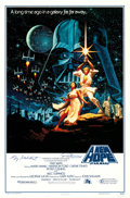 """Movie Posters:Science Fiction, Star Wars: A New Hope (20th Century Fox, R-1993). Autographed One Sheet (27"""" X 41"""") Style A, Greg and Tim Hildebrandt Artwor..."""