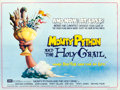 """Movie Posters:Comedy, Monty Python and the Holy Grail (EMI, 1975). British Quad (30"""" X40"""") Terry Gilliam Artwork.. ..."""