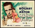 "Movie Posters:Film Noir, The Maltese Falcon (Warner Brothers, 1941). Title Lobby Card (11"" X14"").. ..."