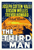 "Movie Posters:Film Noir, The Third Man (Lion International, R-1950s). British One Sheet(26.75"" X 39.75"").. ..."