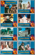 """Movie Posters:Fantasy, Clash of the Titans (MGM, 1981). Lobby Card Set of 8 (11"""" X 14"""").Fantasy.. ... (Total: 8 Items)"""