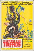 "Movie Posters:Science Fiction, The Day of the Triffids (Allied Artists, 1962). One Sheet (27"" X 41"") & Uncut Pressbook (12 Pages, 12"" X 18""). Science Ficti... (Total: 2 Items)"