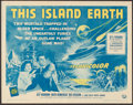 "Movie Posters:Science Fiction, This Island Earth (Universal International, R-1964). Half Sheet (22"" X 28""). Science Fiction.. ..."