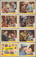 """Movie Posters:Crime, Dead End (Film Classics, R-1944). Lobby Card Set of 8 (11"""" X 14"""").Crime.. ... (Total: 8 Items)"""