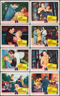 "Movie Posters:Crime, Gang Busters (Visual Drama, Inc., 1954). Lobby Card Set of 8 (11"" X14""). Crime.. ... (Total: 8 Items)"