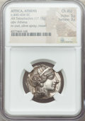 Ancients:Greek, Ancients: ATTICA. Athens. Ca. 440-404 BC. AR tetradrachm (17.19gm). NGC Choice AU 5/5 - 3/5....