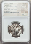 Ancients:Greek, Ancients: ATTICA. Athens. Ca. 440-404 BC. AR tetradrachm (17.20gm). NGC Choice AU 5/5 - 4/5....