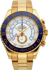 Rolex Ref, 116688 Yellow Gold Yacht-Master II Oyster Perpetual