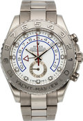 Timepieces:Wristwatch, Rolex Ref. 116689 White Gold Yacht-Master II Oyster Perpetual. ...