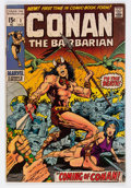Bronze Age (1970-1979):Adventure, Conan the Barbarian #1 (Marvel, 1970) Condition: VG+....