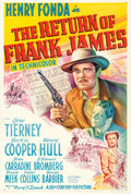 "Movie Posters:Western, The Return of Frank James (20th Century Fox, 1940). One Sheet (27""X 40.5"") Style A, Frederic C. Madan Artwork.. ..."