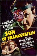"""Movie Posters:Horror, Son of Frankenstein (Universal, 1939). Uncut Pressbook (12 Pages)with Ad Supplement (8 Pages) (11.5"""" X 17.5"""").. ..."""