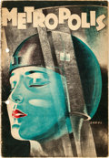"Movie Posters:Science Fiction, Metropolis (UFA, 1927). Dutch Program (36 Pages, 6.5"" X 9.5"")Werner Graul Artwork.. ..."