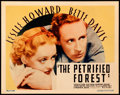 "Movie Posters:Crime, The Petrified Forest (Warner Brothers, 1936). Title Lobby Card (11""X 14"").. ..."