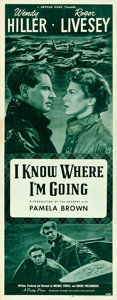"Movie Posters:Romance, I Know Where I'm Going (Universal International, 1947). Insert (14""X 36"").. ..."