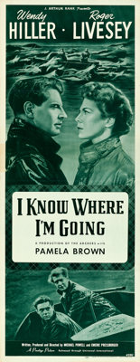 "I Know Where I'm Going (Universal International, 1947). Insert (14"" X 36"")"