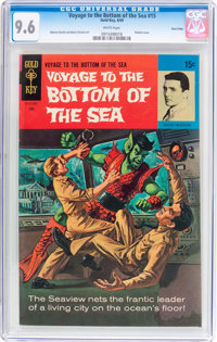 Voyage to the Bottom of the Sea #15 Twin Cities Pedigree (Gold Key, 1969) CGC NM+ 9.6 White pages