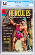 Silver Age (1956-1969):Adventure, Four Color #1006 Hercules (Dell, 1959) CGC VF+ 8.5 Off-white to white pages....