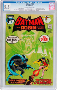 Batman #232 (DC, 1971) CGC FN- 5.5 Off-white to white pages
